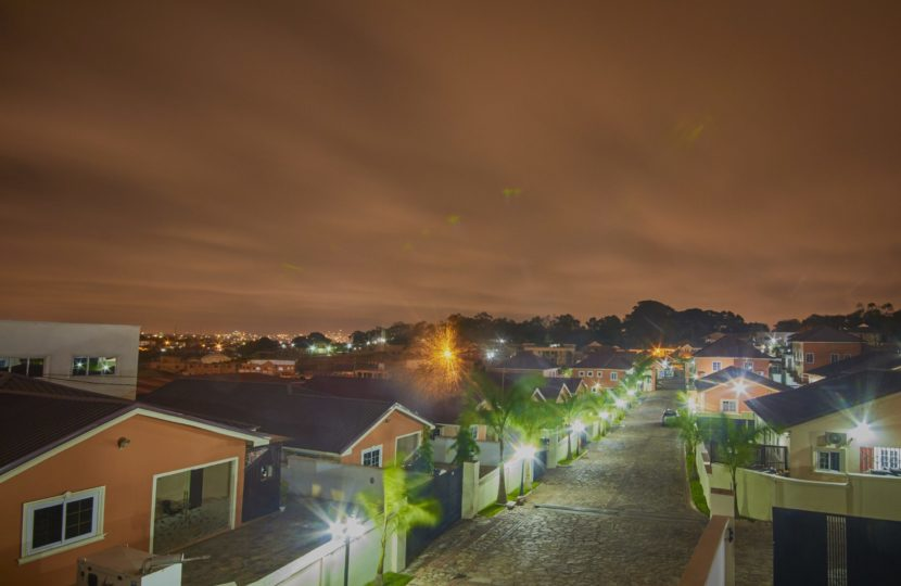 Night View of Achimota Residential Home